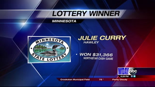 Hawley woman wins big in Minnesota Lottery