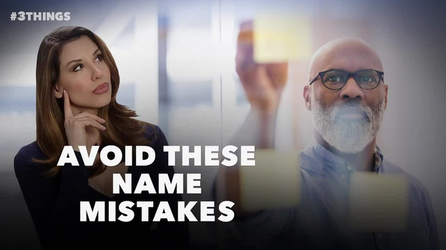 3 Mistake to Avoid When Deciding Your Company's Name