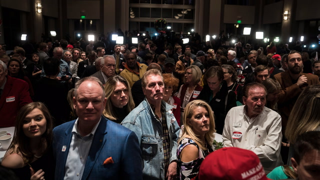'I don't think he could have done anything differently': Moore's supporters react to defeat