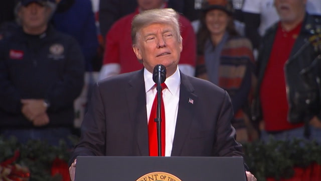 Trump: 'Get out and vote for Roy Moore'