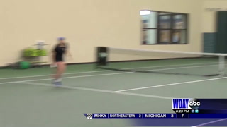 UND women's tennis ease by South Dakota State