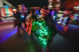 Parade of Lights returns in Mitchell