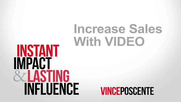 Increase Sales with VIDEO