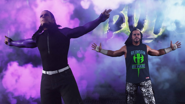 WWE 2K18 Hardy Boyz Gameplay