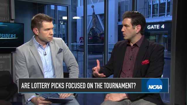 Are Potential Lottery Picks Focused on the NCAA Tournament?
