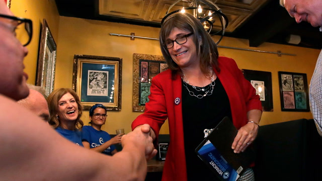 Who is Christine Hallquist?