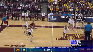 UND falls to Minnesota in volleyball playoffs