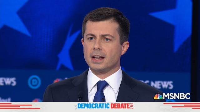 Buttigieg discusses being gay in America at debate