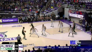 Fighting Hawks take over top spot in Big Sky with win over Weber State