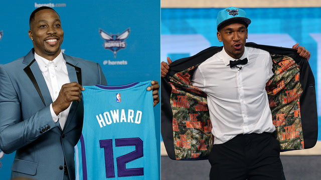 With draft picks, Dwight Howard, have Hornets made needed improvements?