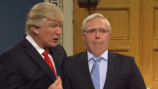 SNL imagines Trump impeachment trial as a daytime courtroom drama