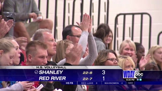 Shanley earns big road win over Red River