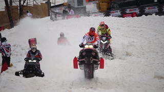 Rain doesn't slow down Amsoil Duluth National Snocross
