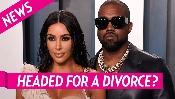 Kim and Kanye's Struggling Marriage: Everything We Know - cover