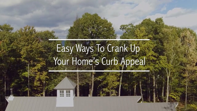 Easy Ways to Crank Up Your Home's Curb Appeal