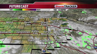 Tuesday Forecast - Partly Cloudy and Warmer