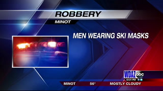 Minot Police investigate robbery