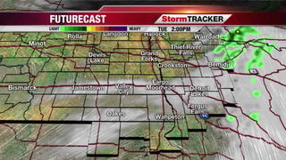 Scattered Showers/T-storms This Afternoon