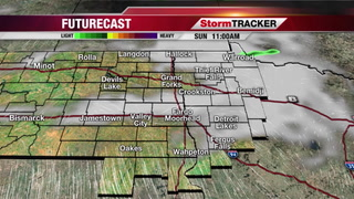 StormTRACKER Sunday Forecast