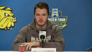 Minnesota Duluth players, coach speak head of national championship game