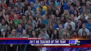 West Fargo teacher awarded 2017 ND teacher of the year