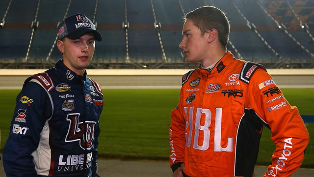 Kyle Busch has a knack for bringing new talent up through NASCAR's ranks