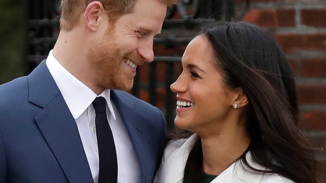 Signed, sealed, delivered: A royal invite to Harry and Meghan's wedding