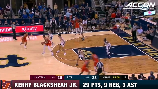 Kerry Blackshear Jr. Leads Hokies Past Panthers