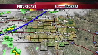 StormTRACKER Saturday Afternoon Forecast