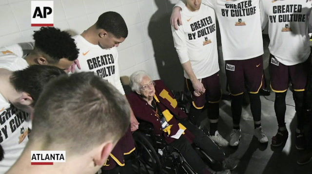 Loyola's Sister Jean is Made Into Bobblehead