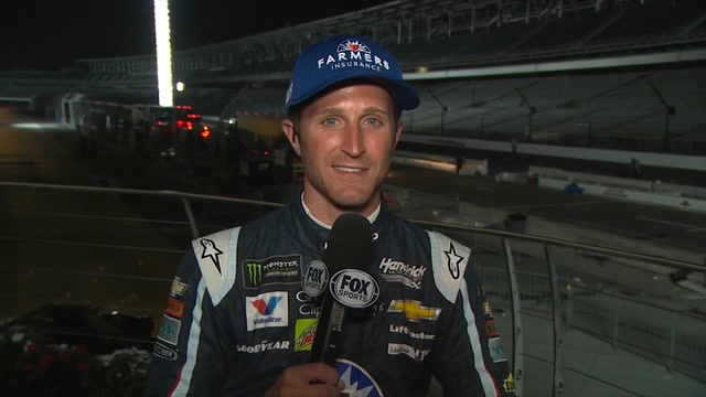 Kasey Kahne Post-Race Interview | 2017 BRICKYARD 400 | NASCAR VICTORY LANE