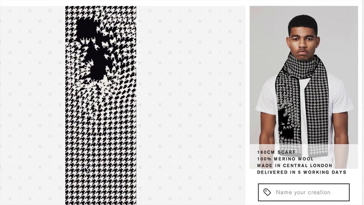 Customize Your Own Glitch Art Sweater