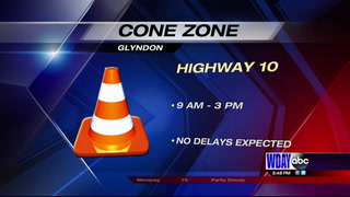 Prep work begins on Highway 10 in Glyndon