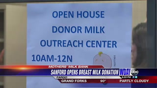 Mothers now able to donate breast milk