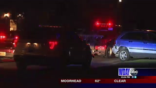 25-mile police chase ends in Moorhead
