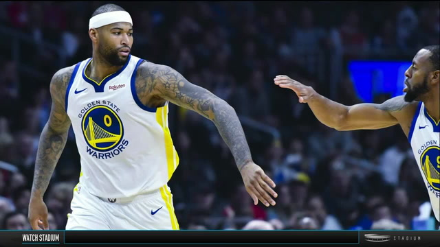 Shams Charania Analyzes DeMarcus Cousins' Warriors Debut