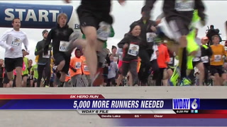 A call for more runners in the Fargo Marathon's 5k Hero Run