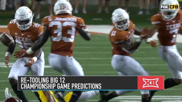 Brett McMurphy Predicts Teams to Make Big 12 Championship Game