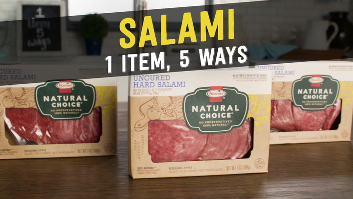 5 recipes that will put salami on your shopping list video