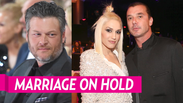 The Reason Gwen Stefani and Blake Shelton's Wedding Plans Are Now on Hold