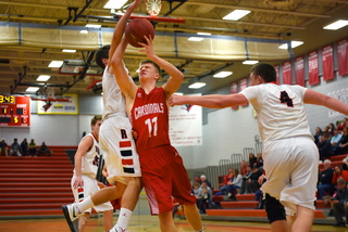 Willmar boys basketball vs Rocori