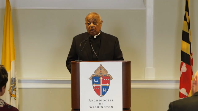 'I will rebuild your trust': Wilton Gregory named archbishop of Washington, D.C.