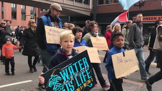 Hundreds march through downtown Duluth to 'dismantle legacy of racism'