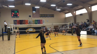 Kernel volleyball battles Harrisburg