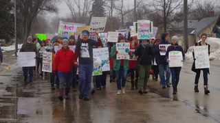Women's March in Morris