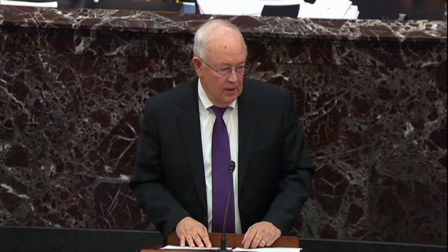 Ken Starr says 'impeachment is hell'