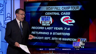 WDAY Fall Camp Tour: Central Cass Squirrels 2016 Preview