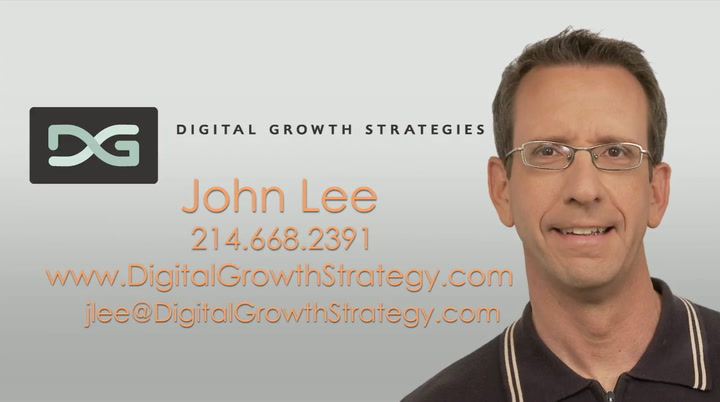 John Lee | Digital Growth Strategies