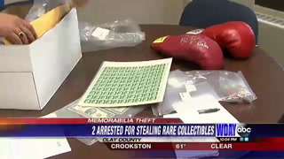 Local couple steal rare collectable items from anothers home