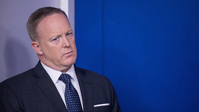 Spicer's exit reveals the perils of being Trump's mouthpiece